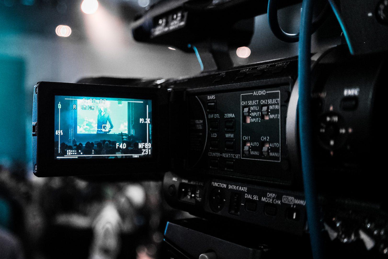 Kamera rejestrująca obraz.