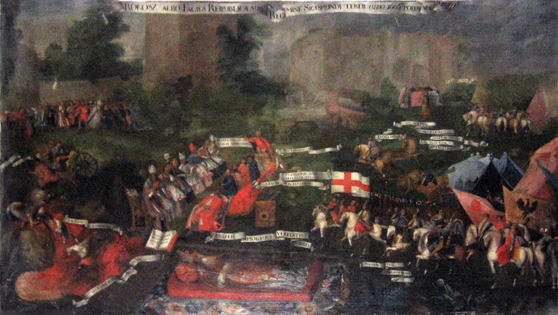 Stary obraz bitwy w średniowieczu