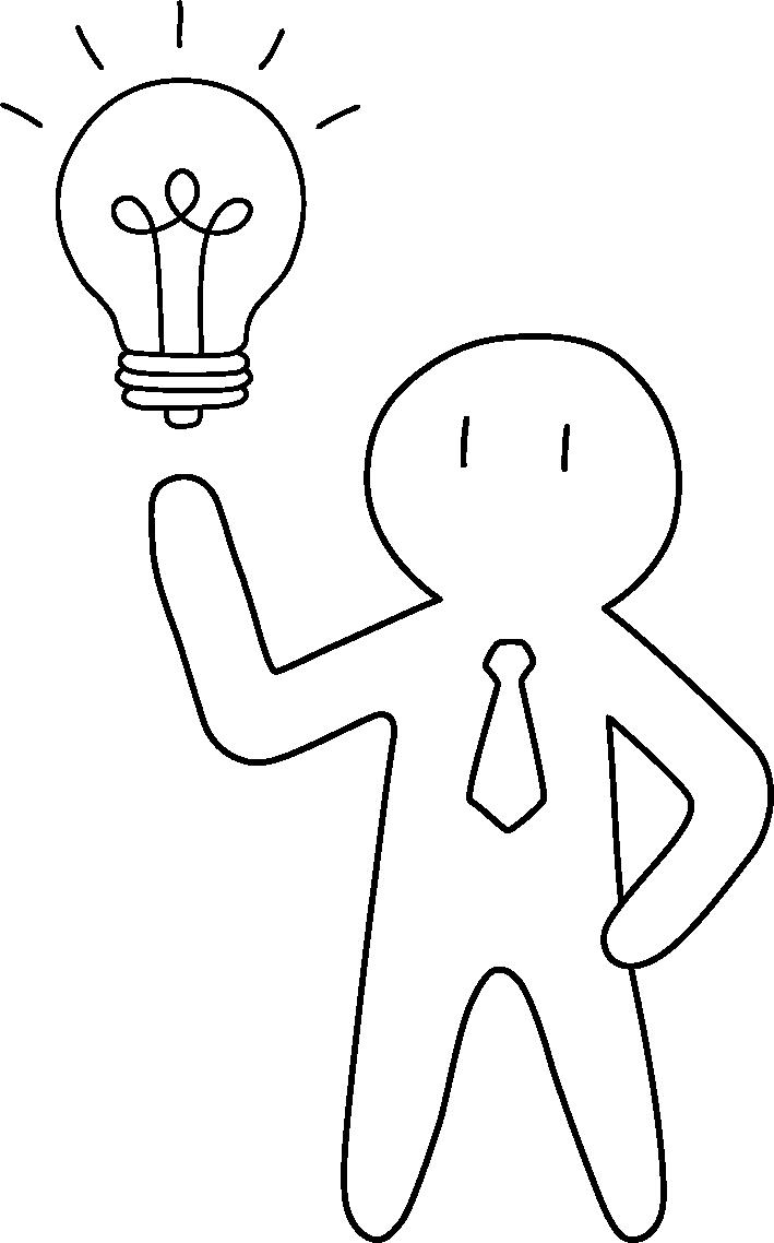 Ekonofizyka na przykładzie człowieka z żarówką