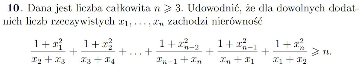 Nierówności na Olimpiadzie Matematycznej - obraz 9