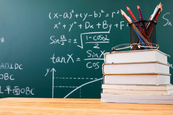 Optymalizacja na matematyce na przykładzie wzorów matematycznych wypisanych na tablicy