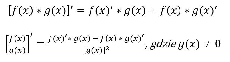 Zadanie optymalizacja na przykładzie wzoru na pochodną funkcji